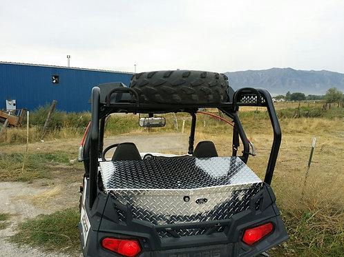 Polaris RZR Spare Tire Steel Cargo Racks