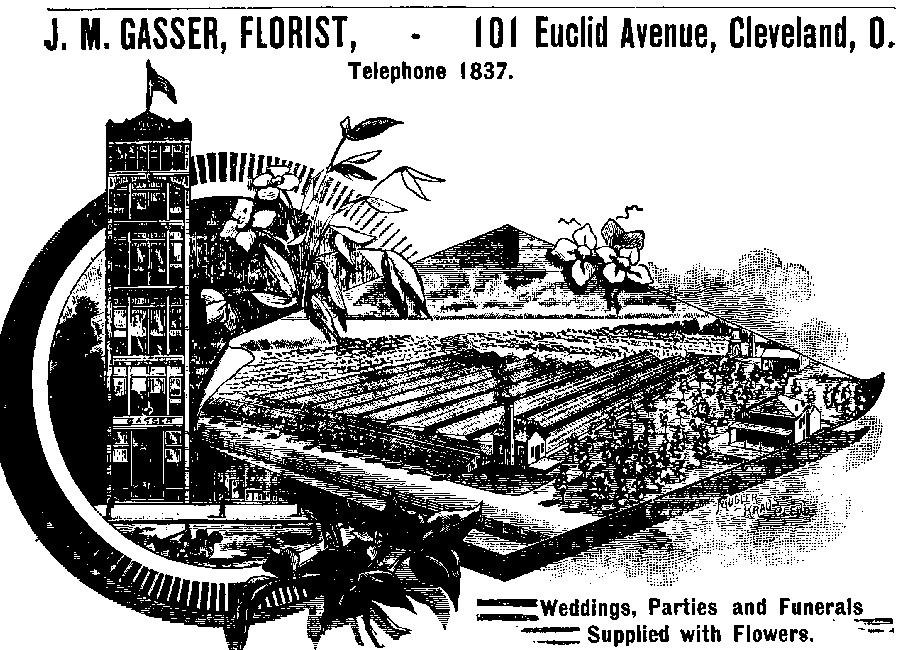 Gasser Florist Advertisement