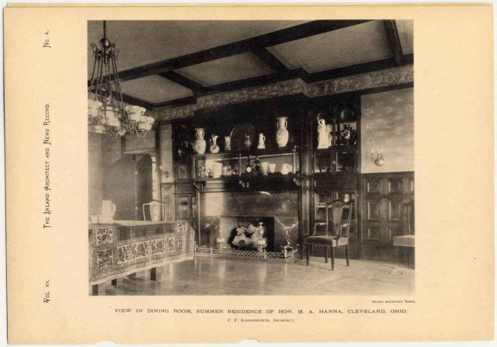 Dining Room of Glenmere
