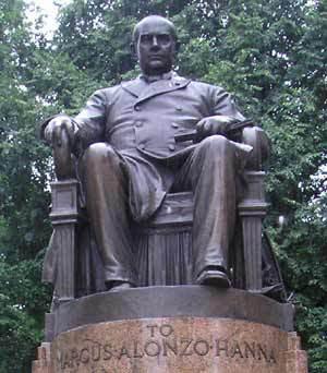 Statue of Senator Hanna