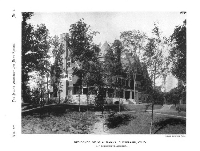 Residence of M.A. Hanna