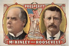 McKinley Roosevelt Campaign Poster