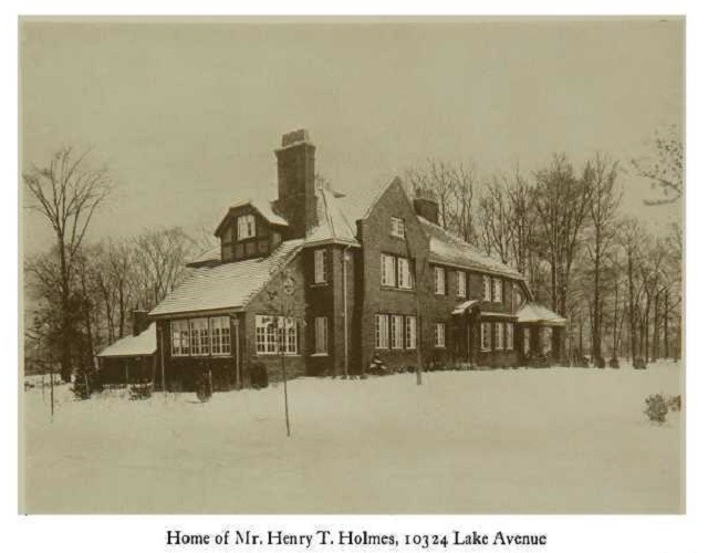 Residence of Henry Holmes