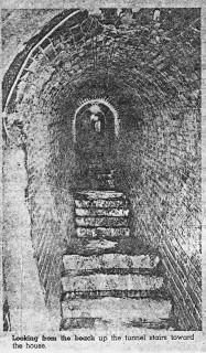 Tunnel Under Feiss Residence