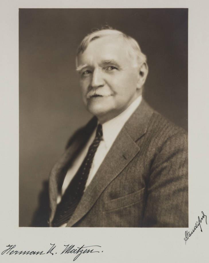 Herman N. Matzen Photograph