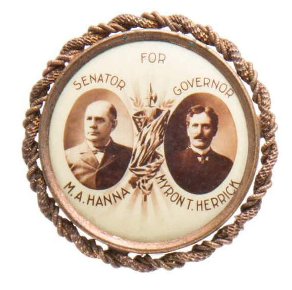 1903 Hanna Campaign Badge