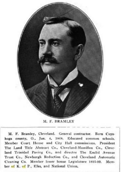 Portraitof M.F. Bramley
