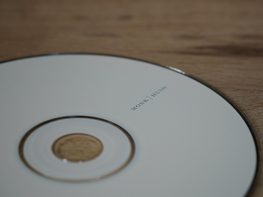 White compact disc