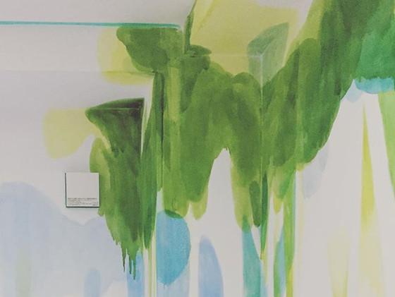 部屋の一部_#羽犬塚プロジェクト #MEIJIKAN #painting #ar