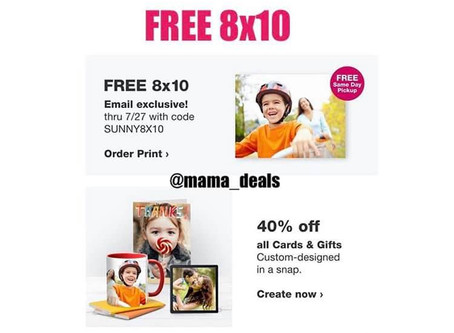 FREE Walgreens 8x10 Photo Ends Today 7/27