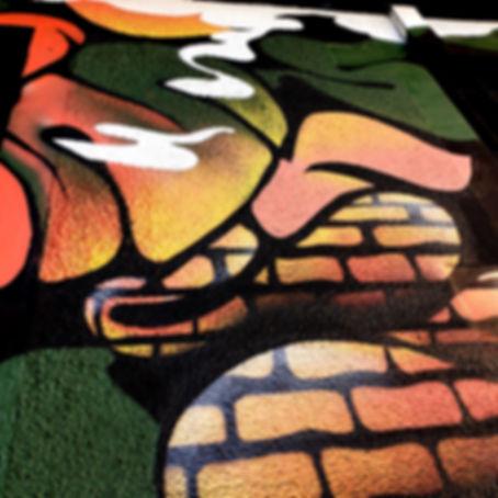 Fresque superposition Lyon
