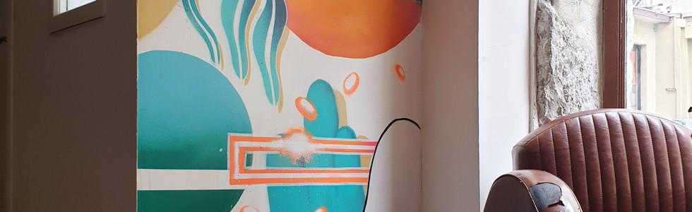 Customisation Café Galerie - Lyon France 05/2019