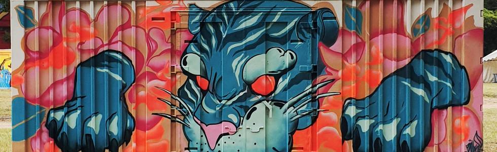 LabelValetteFestival - Urban Art Paris - Bourges France 31/08/2019
