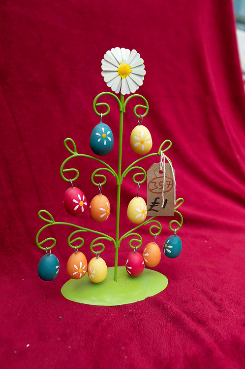 357. Tree egg ornament.