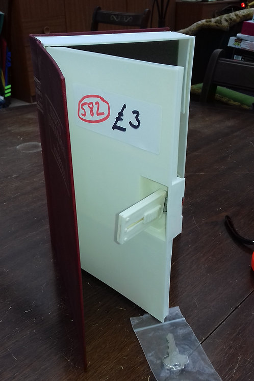 582. Home Book Safe for Jewellery etc.