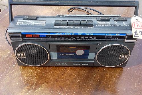 173. Cassette Player.