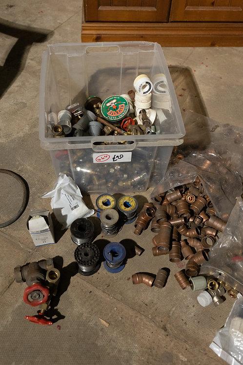 464. Box of Plumbing Fittings