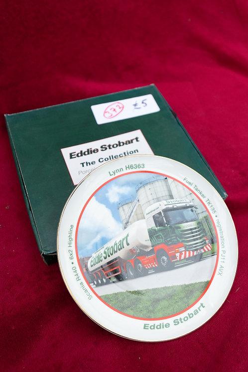 "372. ""Eddie Stobart"" Collectable Plate. ""Lynn H6363"""