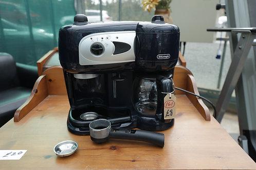 "161. ""Delonghi"" Coffee Machine."