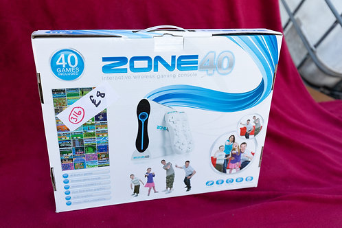 316. Zone 40 wireless gaming console for TV