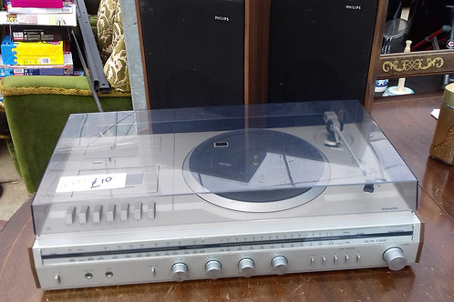 """172. """"Phillips"""" Record & Cassette Player."""