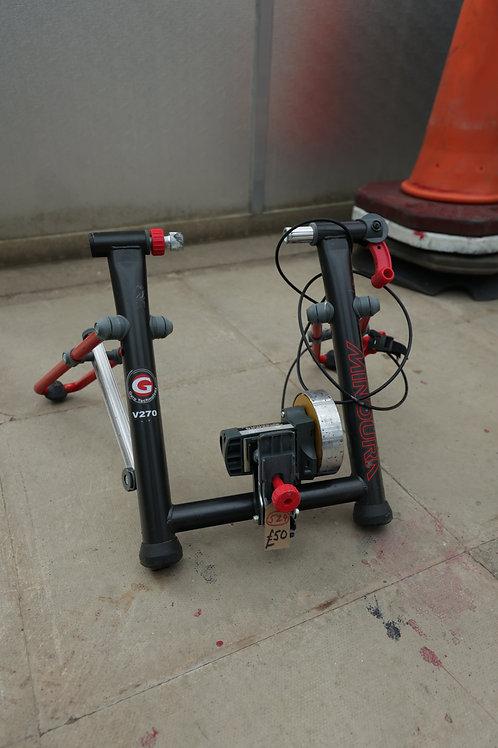 "524. ""Minoura"" Bike Trainer Stand. As new. Retails at £130."