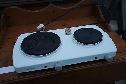 """163. """"Micromark"""" Twin electric hob."""