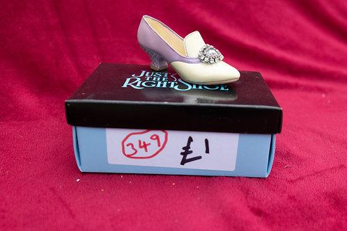 349. Shoe Ornament.