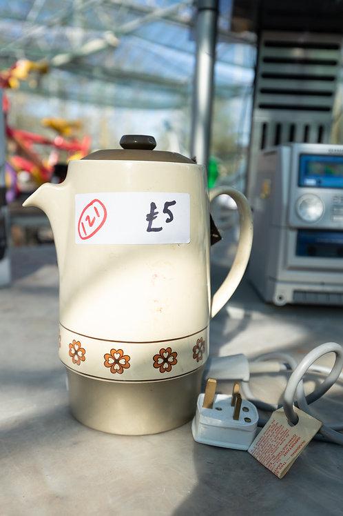 121. Coffee percolator.