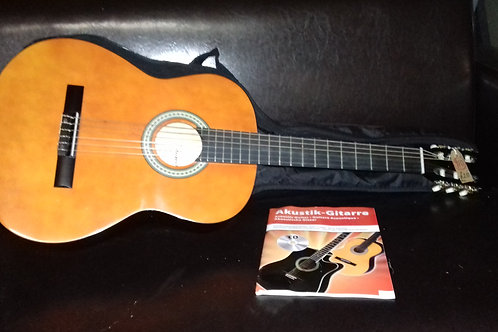 """910. """"Sheffield"""" Guitar and Protective Covering. As new."""