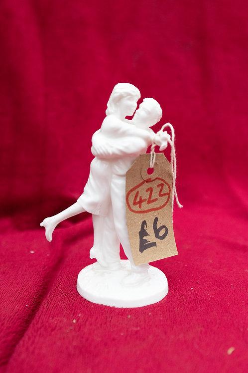 "422. Coalport Figurine "" Young Love"""