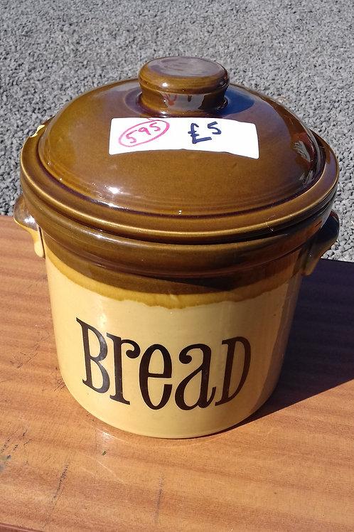 595. Retro Bread Bin. Ceramic
