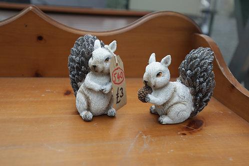 540. Squirrel Ornaments.