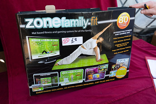 """315. """"Zone Family Fit"""". Plug into your TV and keep fit."""