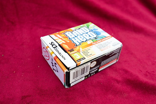 323. Nintendo DS Band Hero game and controller.