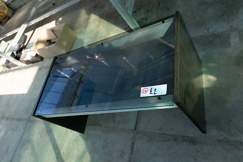14. Glass topped Coffee Table.