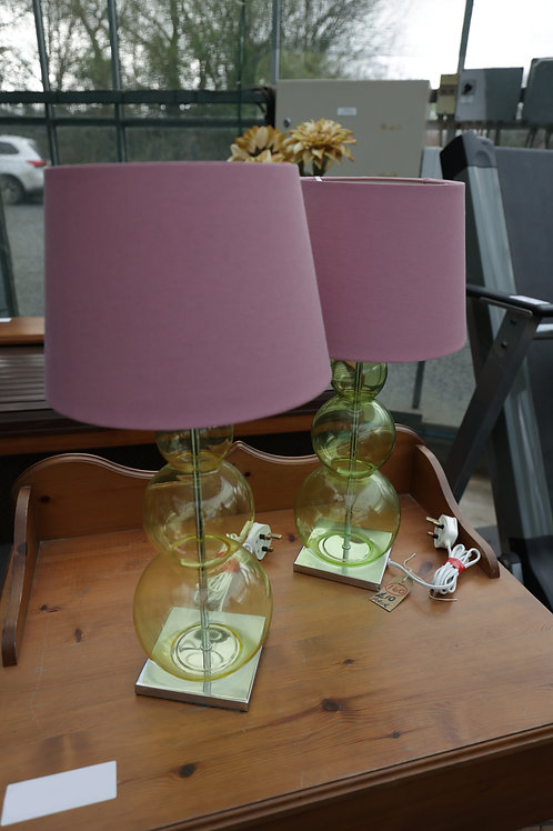 160. Pair of Matching Table Lamps.