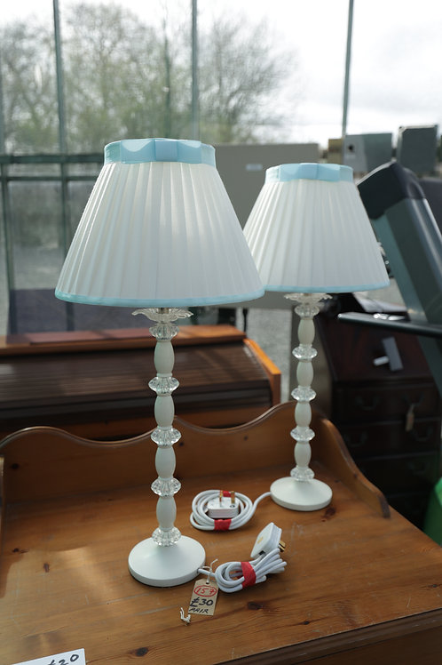 157. Pair of Matching Table lamps.