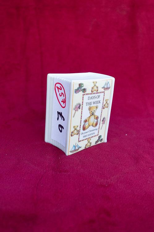 257. Royal Worcester, Christening Money Box.