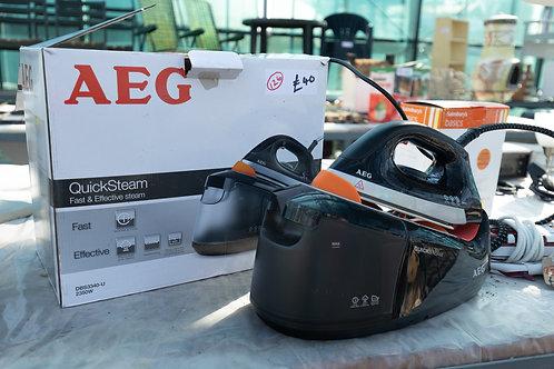 126. AEG Steam Iron.