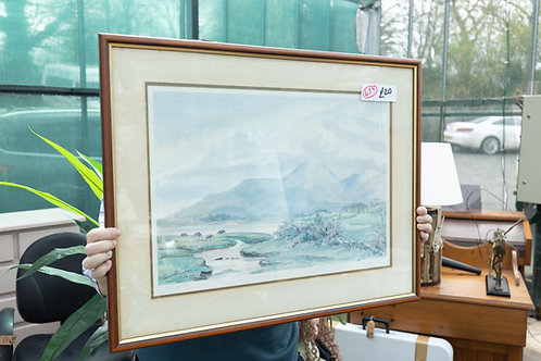"""639. Limited Edition print """"Mountains of Mourne"""" by Coralie Kinahan"""