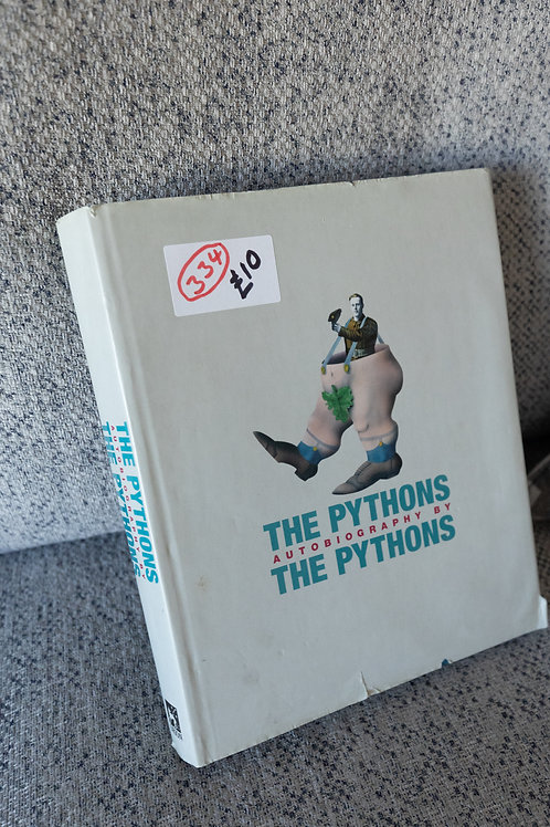 """334. Rare Book """"The Pythons Autobiography by the Pythons"""""""