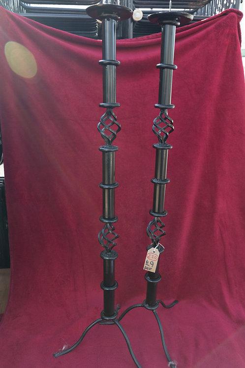 220. Tall Candlesticks, height 91 cm