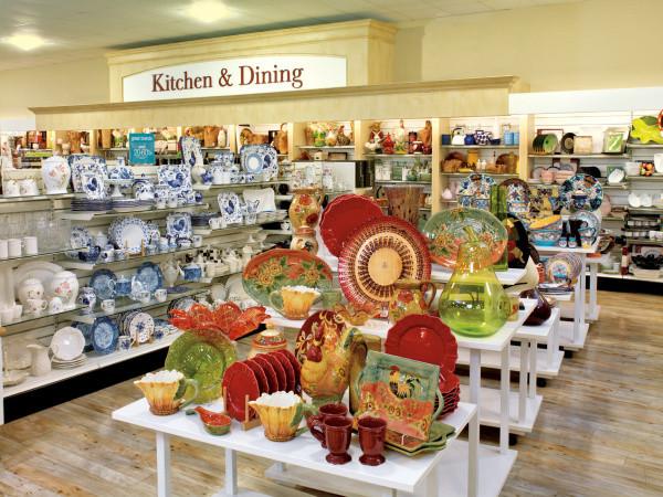 Kitchen & Dining at Homegoods.
