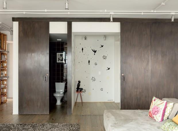 apartamento-decoracao-estudio-vitor-penha-estilo-industrial-concreto-aparente-entrada