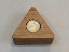 Quercus Quirky One candle (triangle)
