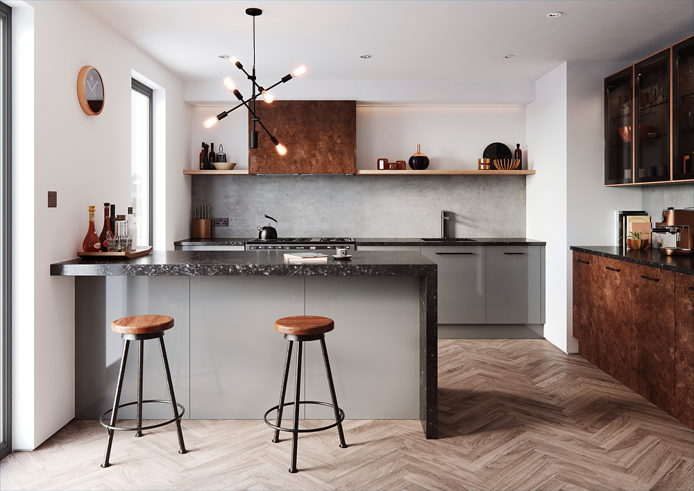 The Cosdon range, Kitchen design 2021