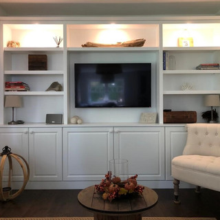 Fitted Media wall