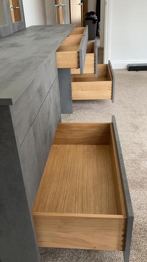 Custom built Dressing table