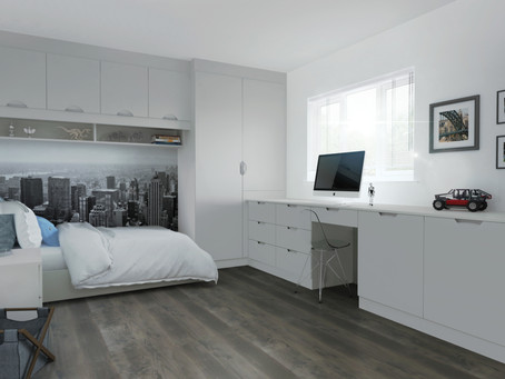 5 WAYS TO DESIGN A MORE SPACIOUS BEDROOM